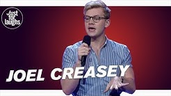 Joel Creasey - Feuding with Russell Crowe on Twitter