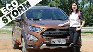 Video Ford EcoSport Storm 4WD 4x4 | Vídeo Completo com Fã Mirim download MP3, 3GP, MP4, WEBM, AVI, FLV Juli 2018