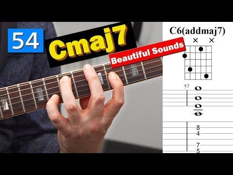 57 Ways To Play a Cmaj7 with a G in the melody