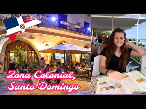 Colonial Zone, Santo Domingo Vlog // Dominican Republic Expat Life