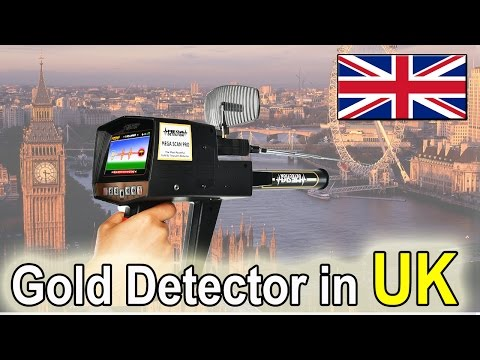Gold Detectors in UK from Orient Technology Group