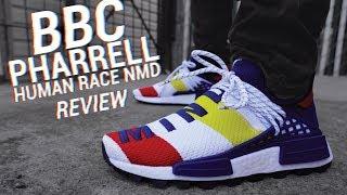 BBC X Adidas Pharrell Human Race NMD Review & On Feet