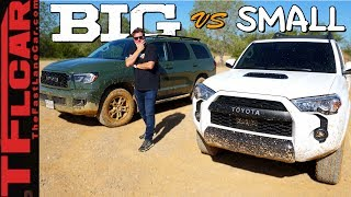 2020 Toyota Sequoia vs 4Runner TRD Pro - Which One Is Better Off-Road?
