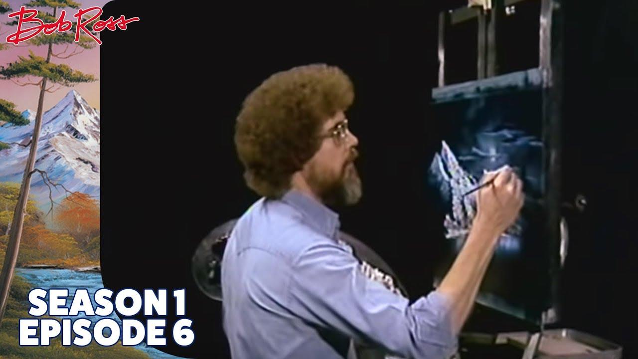 Bob Ross Winter Moon Season 1 Episode 6 Youtube