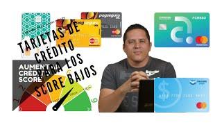 7 Cartones de Créditos, SCORE bajo!!!