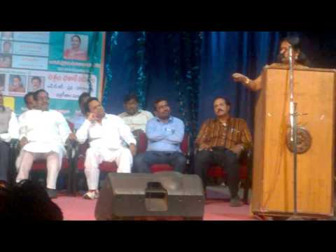 Actress Prabha Speaking At NTR-VITHALACHARYA Awards.