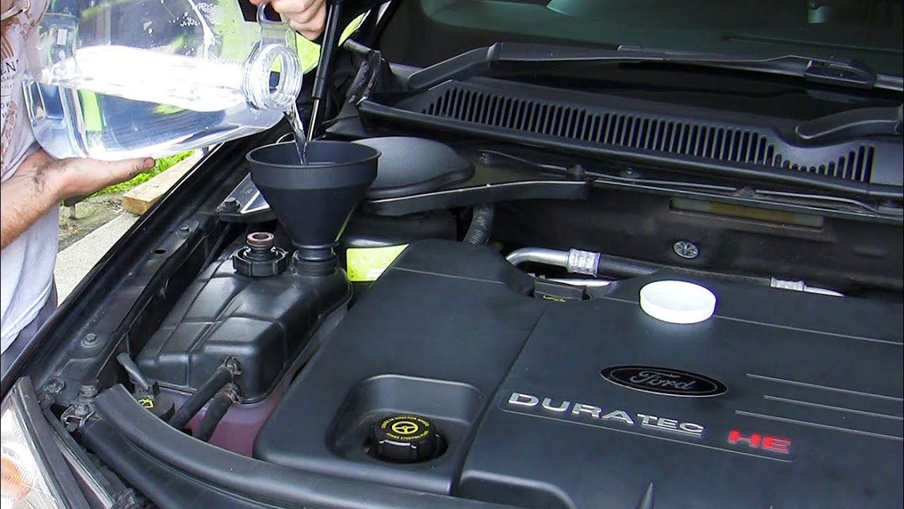 How To Ford Mondeo Focus Duratec He Coolant Change Youtube