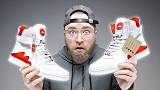 Repeat youtube video These Pizza Hut Shoes Will Order Pizza For You…