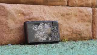 300FPS Airsoft Pistol Vs. Digital Camera & Metal Can (Walther P99)