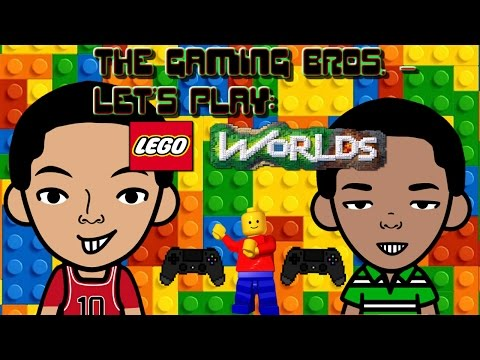 THE GAMING BROS. PLAY LEGO WORLDS  
