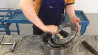 MACHINE SHOP MAINTENANCE: How to Grease a BISON Lathe Chuck Part 1