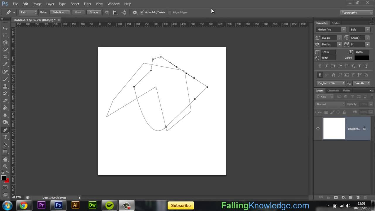 Photoshop pen tool tutorial pen tool how to photoshop cs5 cs6 cc photoshop pen tool tutorial pen tool how to photoshop cs5 cs6 cc tutorials for beginners pt 1 baditri Choice Image