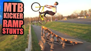 MTB KICKER RAMP STUNTS AND CAKE ELECTRIC MOTOCROSS BIKE