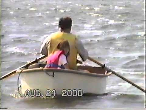 Sailing on Swan Lake, Clark County, South Dakota, 2000.  Part 2
