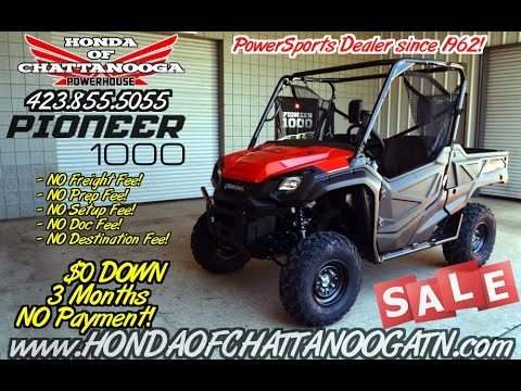 2016 Pioneer 1000 Review Specs Base Prices Honda Of Chattanooga Tn Sports