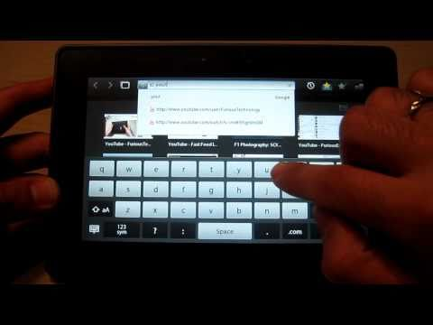 How to download a video off of Youtube onto your Blackberry Playbook - HD