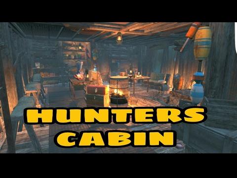 Fallout 4: HUNTERS CABIN SETTLEMENT!