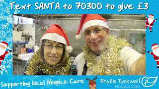 Phyllis Tuckwell's Santa Selfie - Cook Team at PTHC