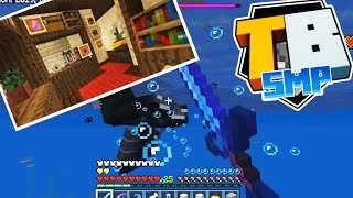 Truly Bedrock - Episode 6 - Immortal Wither Battle! & Potion Room Decor! - Minecraft SMP