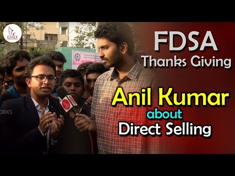 Anil Kumar about Federation of Direct Selling Association | FDSA Thanks Giving | Eagle Media Works