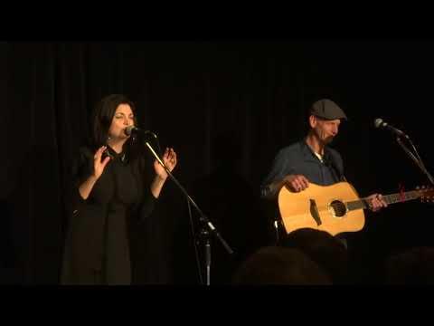 Damhnait Doyle singing Blue Eyes Crying In The Rain for Stuart Jolliffe Delta Hotel