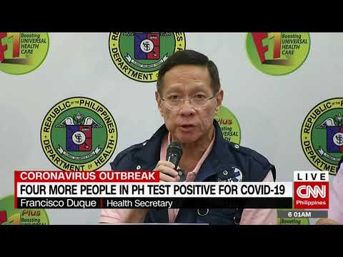 Four more people in PH test positive for Covid-19