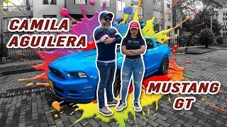 🚙 A Fondo con CAMILA AGUILERA y su MUSTANG GT / BAQEET 0211