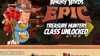 Angry Birds Epic Blues Treasure Hunters Class Unlocked - First Look - iOS, Android, iPad