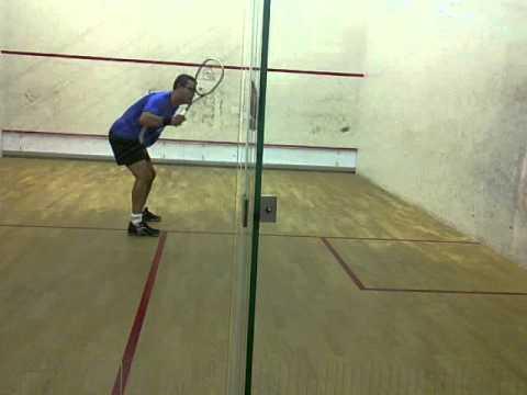 Squash:  Voleas 4 esquinas