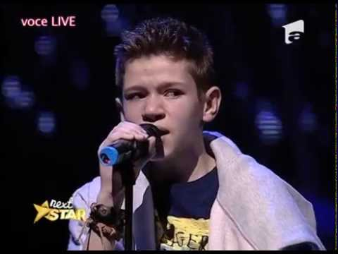 "Ed Sheeran - ""Thinking Out Loud"". Vezi Cum Cântă Alex Eduard Alexe La ""Next Star""!"