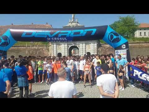 Crosul Tineretului, la Alba Iulia