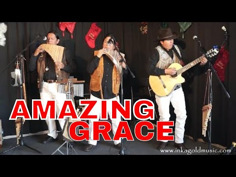 AMAZING GRACE | INKA GOLD  Concert  pan flute and guitar HD