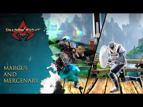 Shadow Fight Arena: Mercenary And Marcus - New Moves And Ability!!!