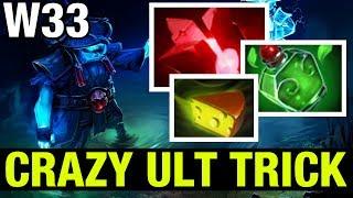 CRAZY ULT TRICK !! - W33 STORM SPIRIT - Dota 2