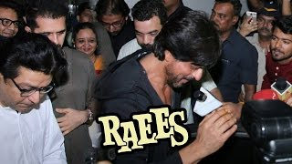shahrukh khan meets mns raj thackeray to talk about raees