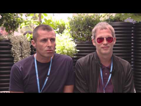 Liam Gallagher on Roger Federer, Ana Ivanovic & tennis - 2014 Australian Open