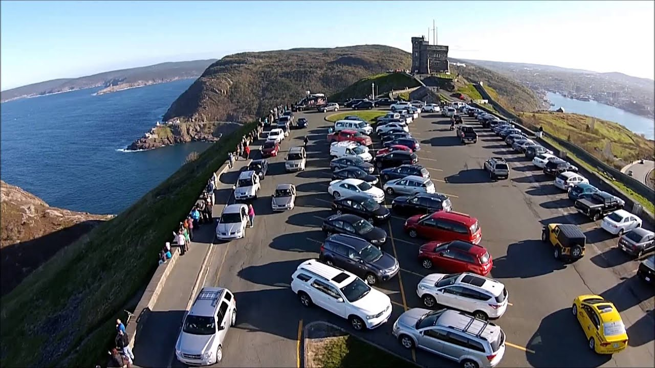 Signal Hill St Johns Newfoundland YouTube - Car signal hill