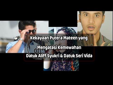 Kekayaan Putera Mateen yang Mengatasi Datuk Aliff Syukri & Datuk Seri Vida