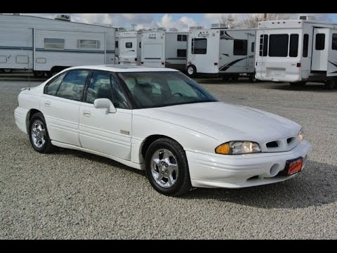 1999 pontiac bonneville ssei sedan for sale dayton troy. Black Bedroom Furniture Sets. Home Design Ideas