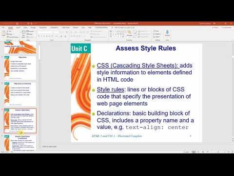 CSC106 Tutorial 1 - CSS thumbnail
