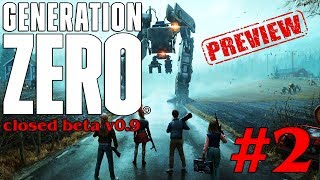 Let's Play GENERATION ZERO Preview #2 (beta v0.9)
