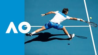 Damir Dzumhur vs. Stan Wawrinka - Match Highlights (1R) | Australian Open 2020