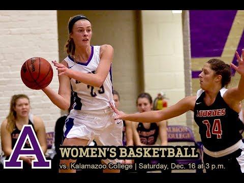 Women's Basketball - Kalamazoo College vs. Albion College