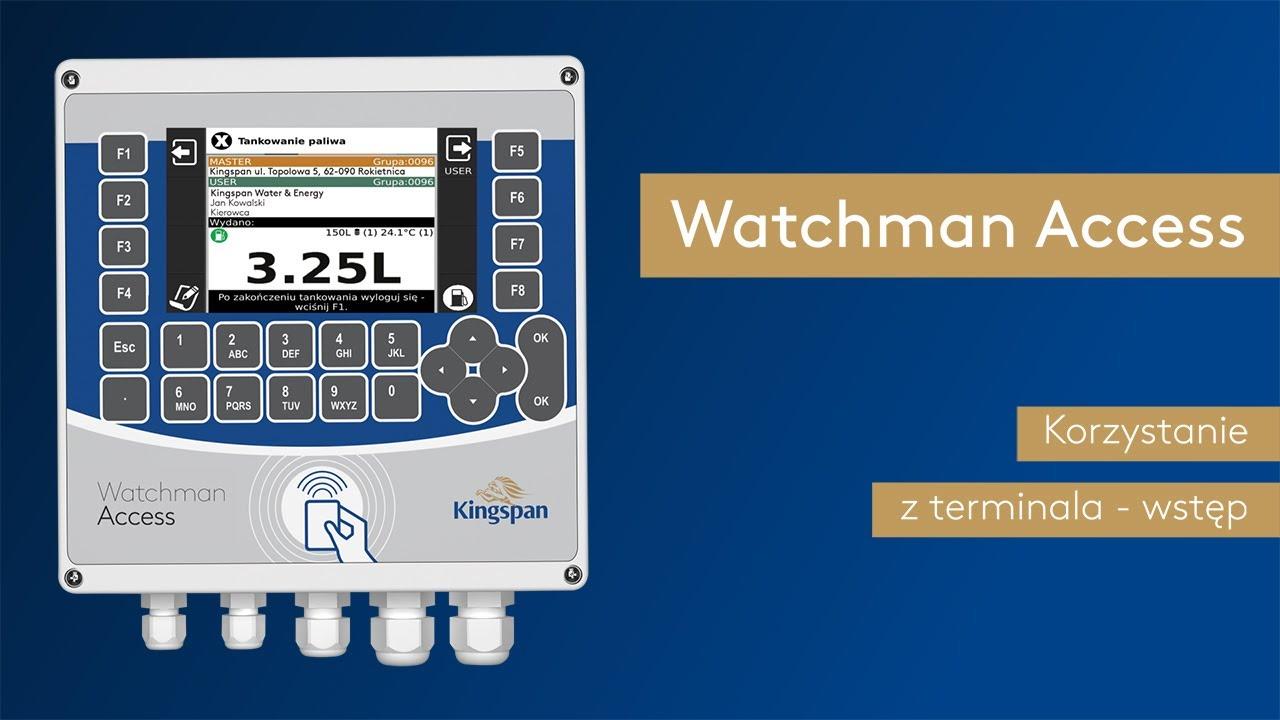 Download Jak korzystać z terminala podczas tankowania? Watchman Access FAQ