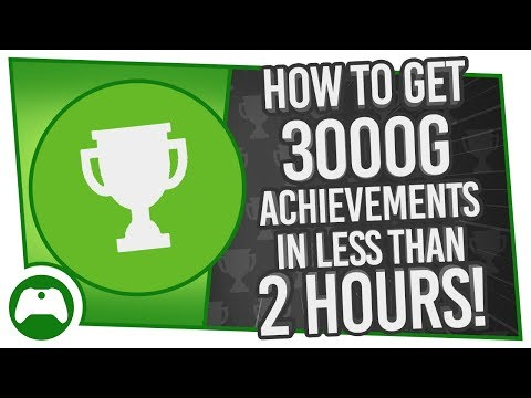 How To Get 3000g Achievements In Less Than 2 Hours!