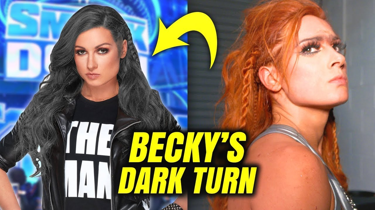 BECKY LYNCH'S DARK TURN! Becky Lynch Receives Unbelievable NEW LOOK and  HEEL TURN - WWE - YouTube