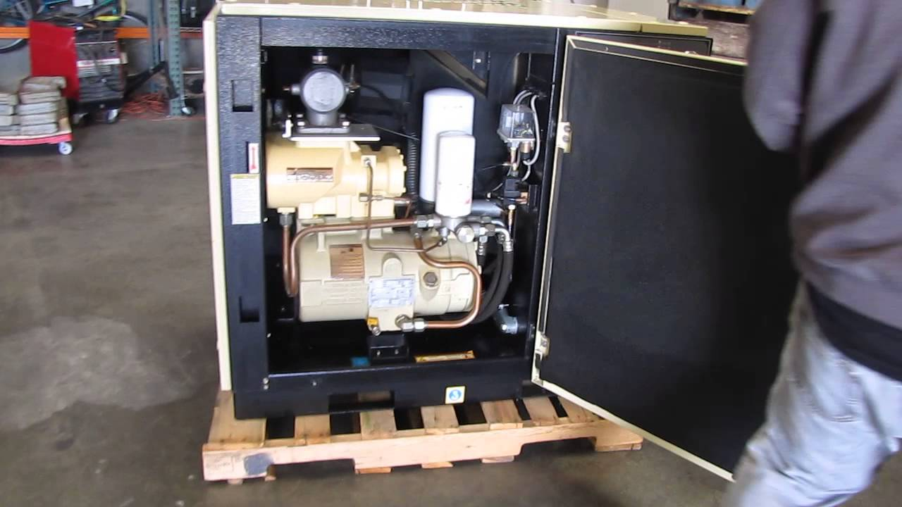 Ingersoll Rand 20 HP Rotary Screw Air Compressor UP6-20