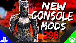 Skyrim Special Edition: ▶️5 BRAND NEW CONSOLE MODS◀️ #298 (PS4/XB1/PC)