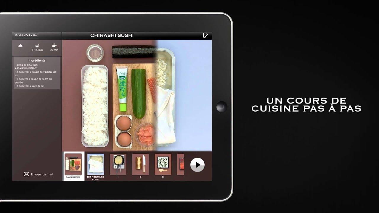 Mon cours de cuisine marabout sur ipad youtube - Cours de cuisine bourges ...