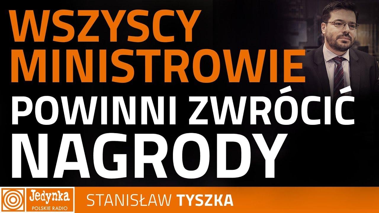 Stanisław Tyszka: podoba nam się pomysł likwidacji nagród dla ministrów
